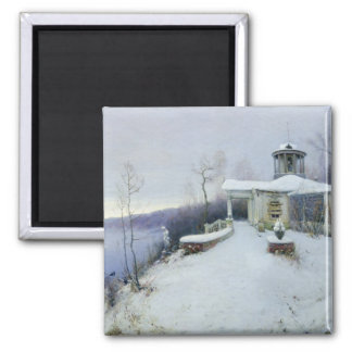 A deserted manor house magnets