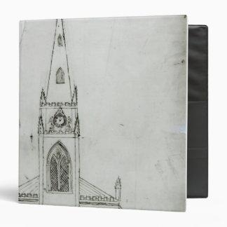 A Design for a Church, 1821 Binder