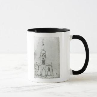 A Design for a Church, 1821 Mug