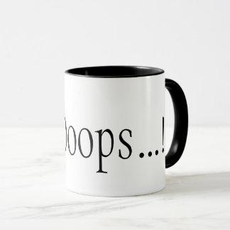 A DevOops...! coffee mug for fearless coders