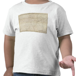 A diagram of the United States T-shirt