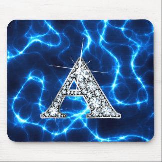"A ""Diamond Bling"" Lightning Mousepad"