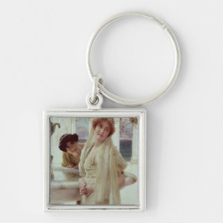 A Difference of Opinion, 1896 (oil on panel) Keychain
