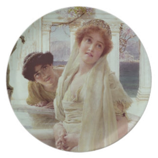 A Difference of Opinion, 1896 (oil on panel) Plate