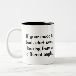 A Different Angle Two-Tone Coffee Mug