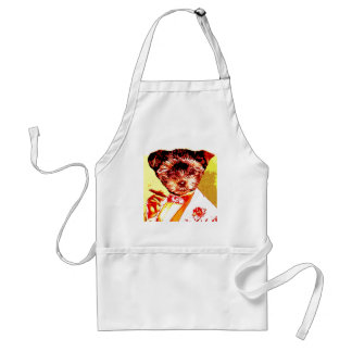 a differnt dog person adult apron