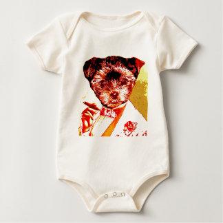 a differnt dog person baby bodysuit
