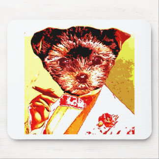 a differnt dog person mouse pad