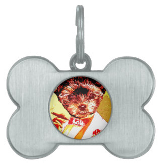 a differnt dog person pet tag