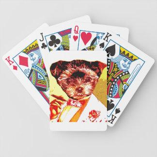 a differnt dog person poker deck