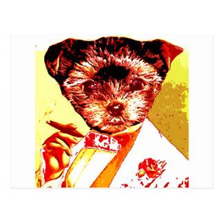 a differnt dog person postcard