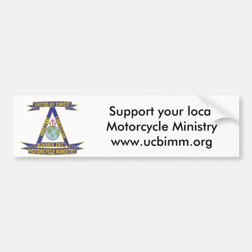 a_Digital_Patch_1 copy, Support your local Moto... Bumper Sticker