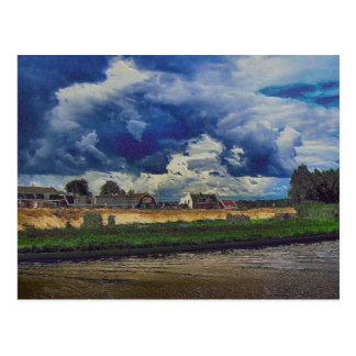 A Digital tribute to van Gogh Postcard