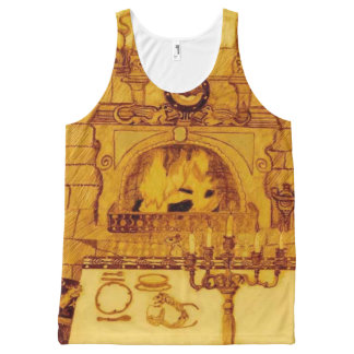 A Dining Room In The Castle All-Over-Print Tank Top