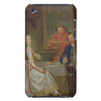 A Dinner Conversation (A Man and Woman Drinking at Barely There iPod Cover