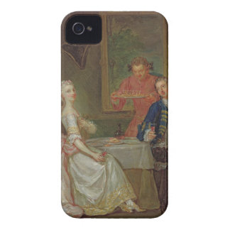 A Dinner Conversation (A Man and Woman Drinking at iPhone 4 Case-Mate Cases