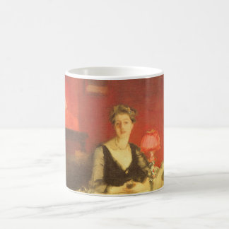 A Dinner Table at Night by Sargent, Victorian Art Coffee Mug