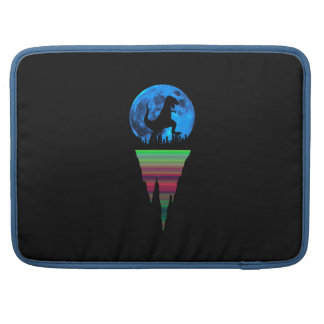 A Dinosaur in the City MacBook Pro Sleeve