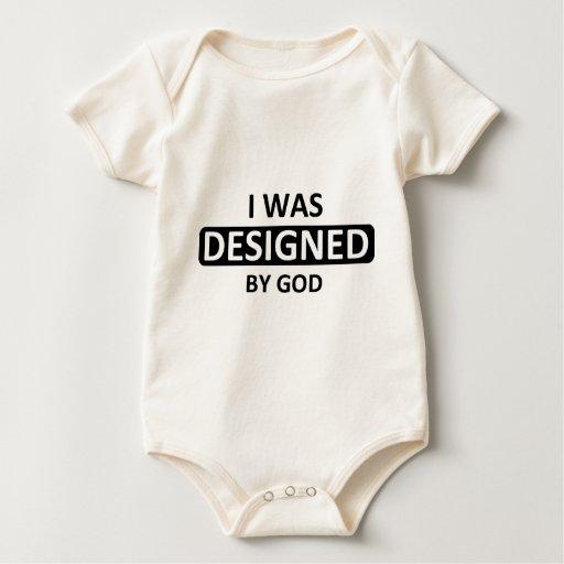 A dios me diseñé body para bebé
