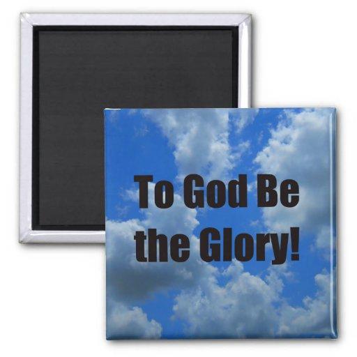 A dios sea la gloria iman