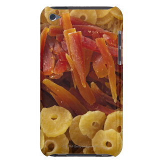 a display of preserved (candied) pine and barely there iPod case