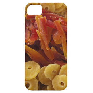 a display of preserved (candied) pineapple and iPhone SE/5/5s case