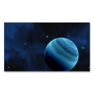 A DISTANT WORLD 2 (outer space) ~.jpg Magnetic Business Cards (Pack Of 25)