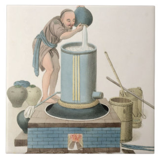 A Distiller, plate 24 from 'The Costume of China', Ceramic Tile