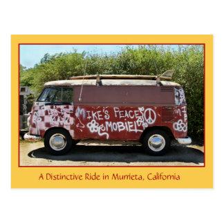A Distinctive Ride in Murrieta, CA Postcard