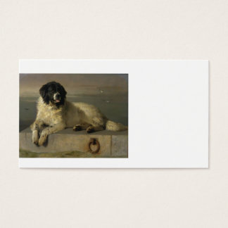 A_Distinguished_Member_of_the_Humane_Society_by_Si Business Card