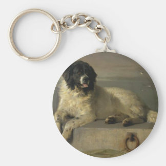 A Distinguished Member of the Humane Society Keychain