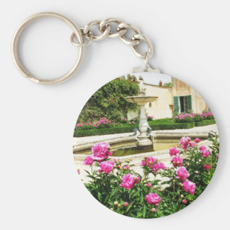 A Divine Rose Garden Picture Key Chains
