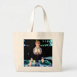 A DJ at the Folies-Bergère Large Tote Bag