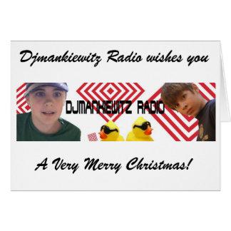 A Djmankiewitz Christmas Card