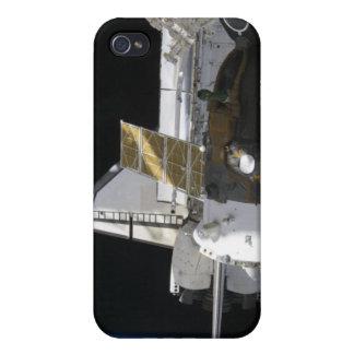 A docked Soyuz spacecraft iPhone 4 Case