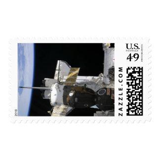A docked Soyuz spacecraft Postage