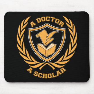 A Doctor and A Scholar Design Mouse Pad