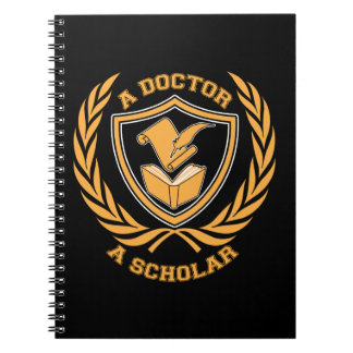 A Doctor and A Scholar Design Notebook