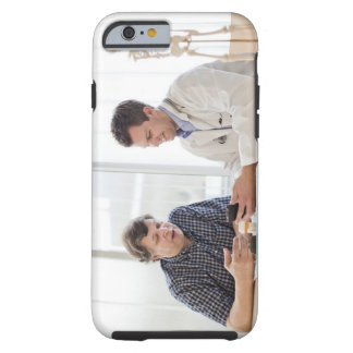 A doctor meeting with a patient and talking and tough iPhone 6 case