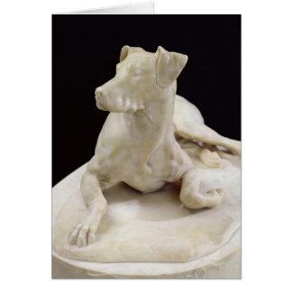 A Dog, 1827 Card