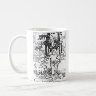 A Dog and his Boy Coffee Mug
