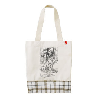 A Dog and his Boy Zazzle HEART Tote Bag