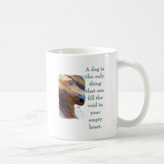 A Dog (Dachshund) Coffee Mug