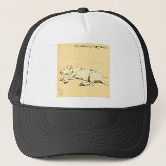 A Dog Day 1902 - 8 BUSY.jpg Trucker Hat