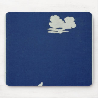 A Dog Howling at the Moon Mouse Pad