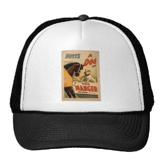 A dog in the Manger, 'Hoyt's' Vintage Theater Mesh Hat