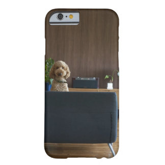 A dog in the riving room barely there iPhone 6 case
