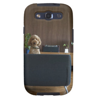 A dog in the riving room samsung galaxy s3 cases