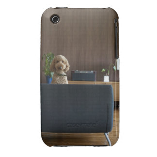 A dog in the riving room iPhone 3 Case-Mate case