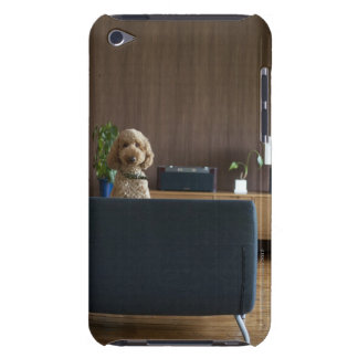 A dog in the riving room iPod touch cover